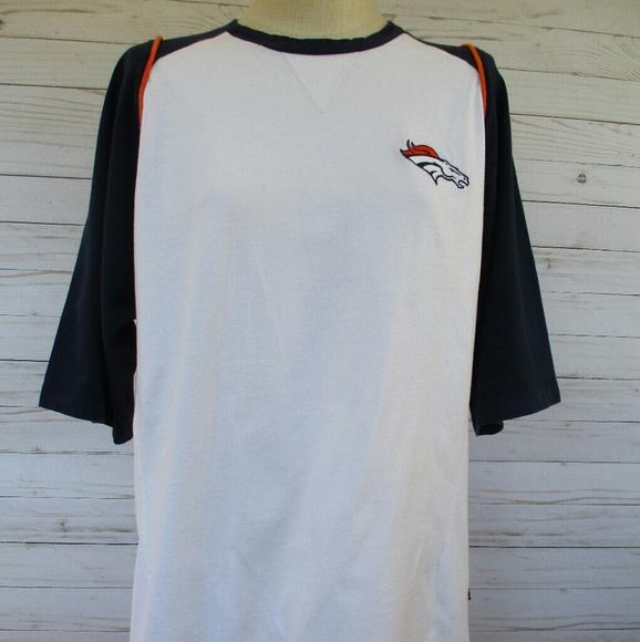 best sneakers f5cad f5af9 Denver Bronco 🏈 NFL T-Shirt Baseball Style